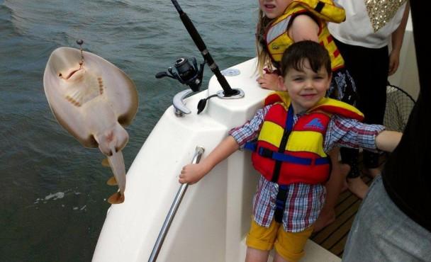 Boat4Hire Fishing at the Warmies