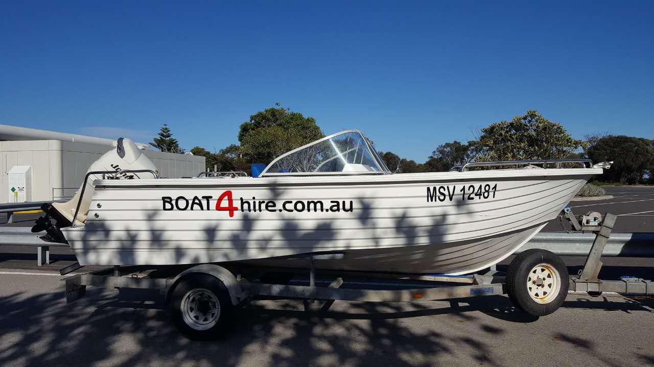 tow away boat rental