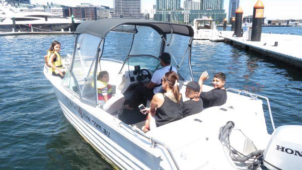 boat cruise australian open