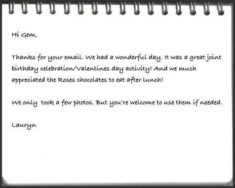 member letter