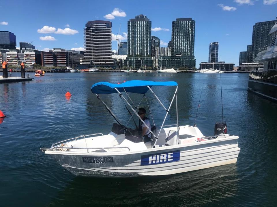 self drive boat hire melbourne